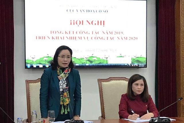 Thứ trưởng Trịnh Thị Thủy: Cục Văn hóa cơ sở cần chủ động xây dựng kế hoạch, kết nối với các đơn vị, địa phương trong thanh, kiểm tra công tác tổ chức và quản lý lễ hội - Ảnh 1.
