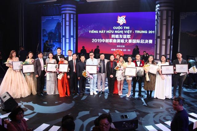 Hai thí sinh giành giải nhất cuộc thi Tiếng hát hữu nghị Việt-Trung năm 2019 - Ảnh 1.