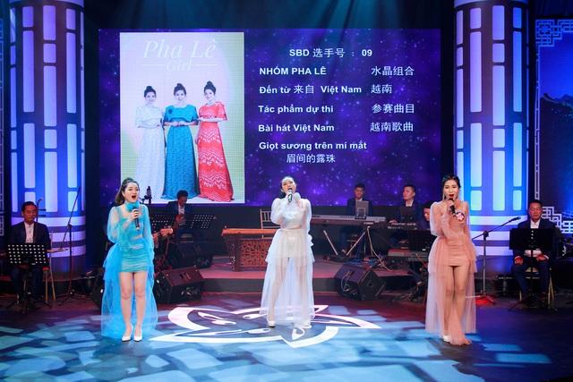 Hai thí sinh giành giải nhất cuộc thi Tiếng hát hữu nghị Việt-Trung năm 2019 - Ảnh 4.