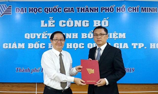 Công bố quyết định của Thủ tướng về nhân sự Phó Giám đốc Đại học Quốc gia TP.HCM  - Ảnh 1.