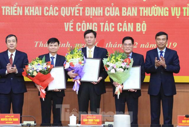 Điều động, bổ nhiệm hàng loạt cán bộ chủ chốt tỉnh Thái Bình - Ảnh 1.