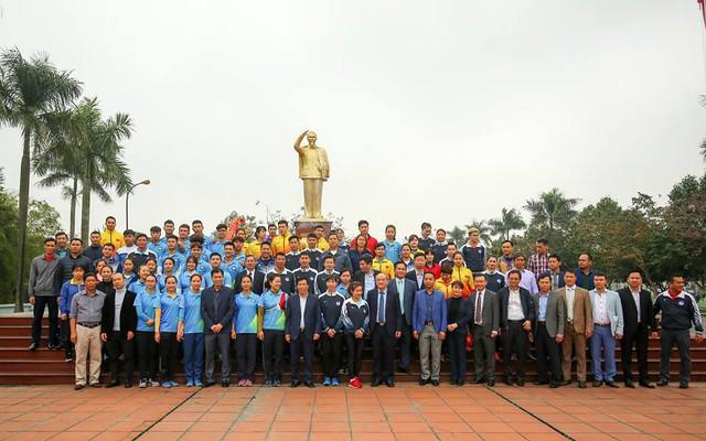 """Bộ trưởng Nguyễn Ngọc Thiện: """"Nếu muốn chiến thắng ở đấu trường lớn trước hết phải có sự tự tin"""" - Ảnh 4."""