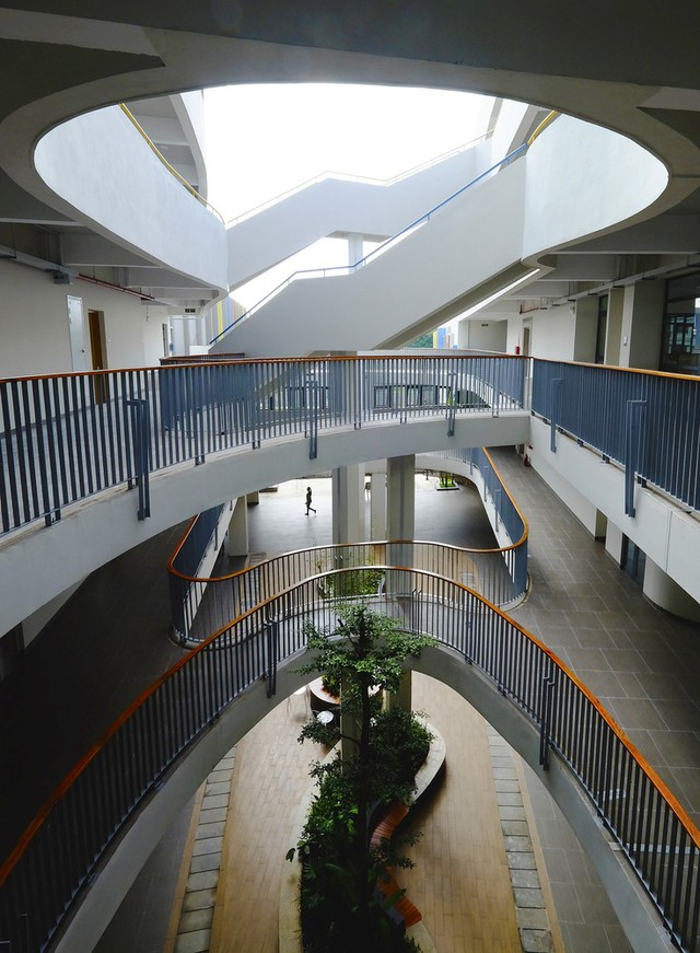 Trường Tiểu học tại Việt Nam xuất hiện trên trang kiến trúc nổi tiếng thế giới  - Ảnh 2.