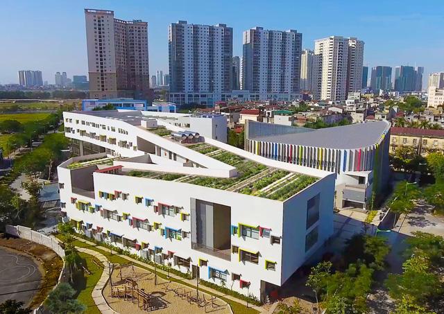 Trường Tiểu học tại Việt Nam xuất hiện trên trang kiến trúc nổi tiếng thế giới  - Ảnh 1.