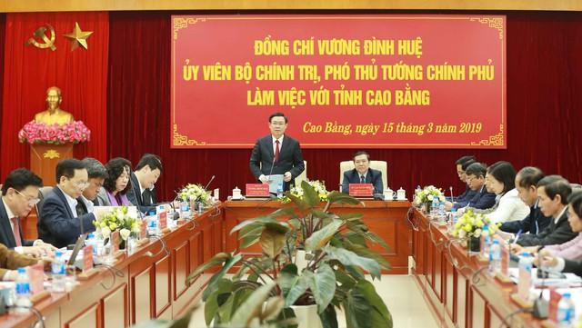 Phó Thủ tướng gợi ý Cao Bằng phát triển du lịch nông thôn gắn với tự nhiên và các di tích lịch sử  - Ảnh 2.