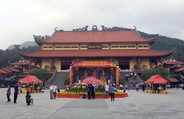 Đoàn công tác của Bộ VHTTDL làm việc với UBND TP Uông Bí về thông tin Truyền bá vong báo oán chùa Ba Vàng - Ảnh 2.