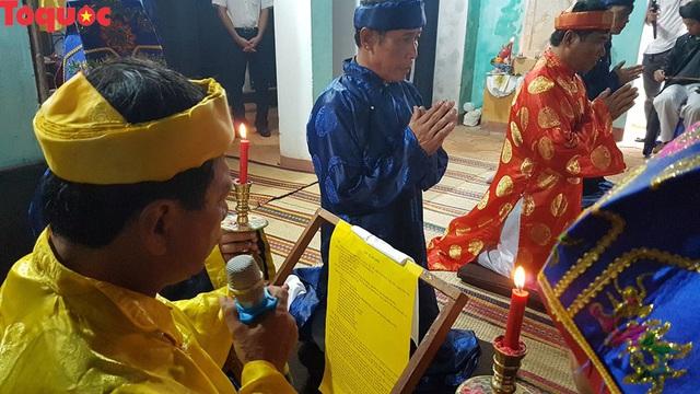 Độc đáo giỗ tổ nghề yến sào Cù Lao Chàm - Ảnh 3.