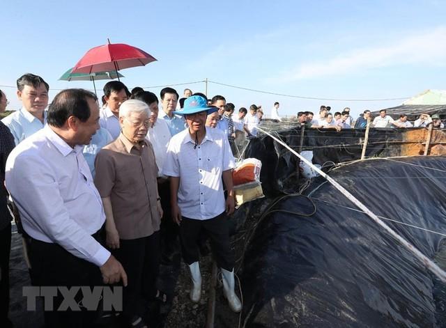 Hình ảnh Tổng Bí thư, Chủ tịch nước Nguyễn Phú Trọng tại Kiên Giang  - Ảnh 1.