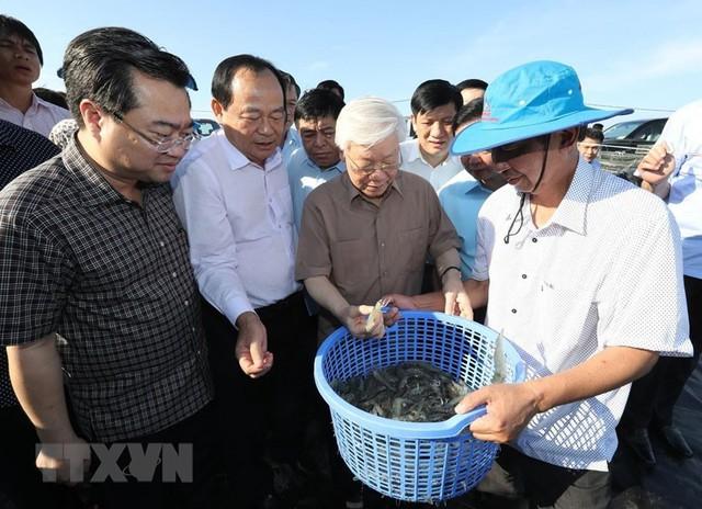 Hình ảnh Tổng Bí thư, Chủ tịch nước Nguyễn Phú Trọng tại Kiên Giang  - Ảnh 2.