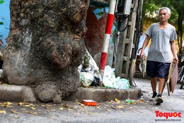 Đống Đa (Hà Nội): Người dân bức xúc vì nạn đổ rác trộm, chất thành đống ngay cạnh biển cấm - Ảnh 7.