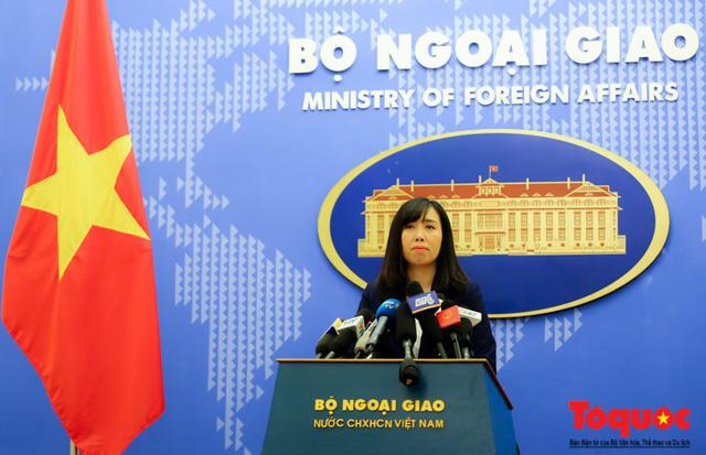 Bộ Ngoại giao: Trung Quốc liên tiếp tập trận ở quần đảo Hoàng Sa đã vi phạm chủ quyền của Việt Nam - Ảnh 1.