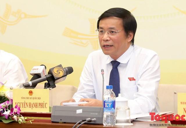 Tổng Thư ký Quốc hội Nguyễn Hạnh Phúc: Kỳ họp này sẽ bàn về việc ra nghị quyết nhằm hạn chế ngay tình trạng uống rượu bia khi lái xe   - Ảnh 1.