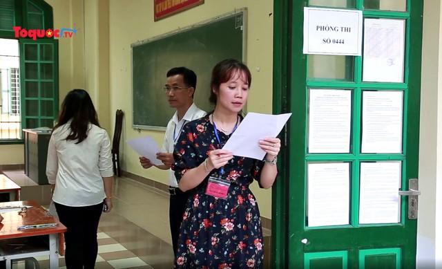Kỳ thi THPT quốc gia năm 2020 thí sinh vẫn làm 5 bài thi - Ảnh 1.
