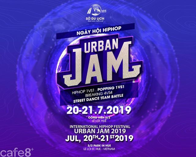 Ngày hội Hiphop Huế – Urban JAM 2019  - Ảnh 1.