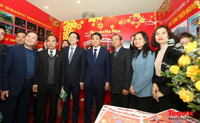 Khai mạc Hội báo xuân Canh Tý - Hà Nội 2020 - Ảnh 6.