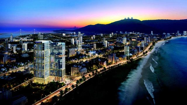 Đà Nẵng: Cất nóc dự án căn hộ cao cấp mặt tiền biển Mỹ Khê - Ảnh 2.