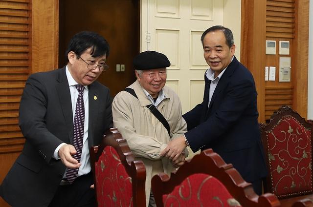 Lãnh đạo Bộ VHTTDL gặp mặt cán bộ hưu trí về công tác Đảng qua các thời kỳ - Ảnh 1.