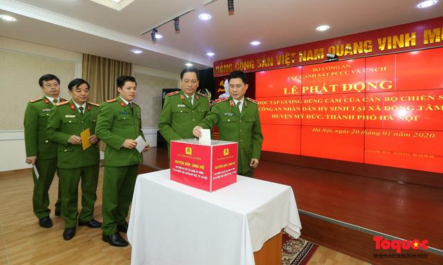 Lực lượng Cảnh sát PCCC và CNCH phát động học tập tấm gương của 3 liệt sĩ hi sinh vì bình yên cuộc sống - Ảnh 3.