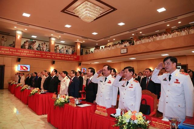 Khai mạc Đại hội đại biểu Đảng bộ Công an Trung ương lần thứ VII  - Ảnh 3.