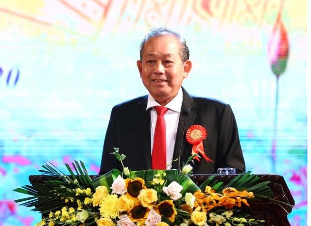 Phó Thủ tướng Trương Hòa Bình dự Đại hội Thi đua yêu nước Bộ Thông tin và Truyền thông - Ảnh 1.