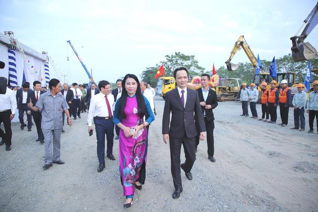 Tập đoàn FLC tổ chức Lễ động thổ Tổ hợp Trung tâm hội nghị quốc tế FLC Vĩnh Phúc - Ảnh 2.
