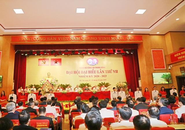 Khai mạc Đại hội đại biểu Đảng bộ Công an Trung ương lần thứ VII  - Ảnh 5.