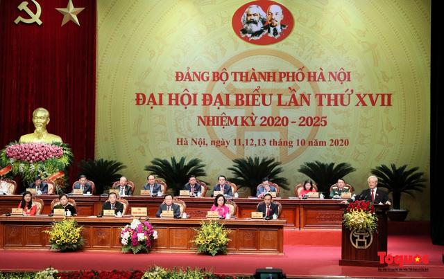"""Tổng Bí thư: """"Người Hà Nội phải sống thực sự có văn hoá, tiêu biểu cho văn hoá dân tộc"""" - Ảnh 1."""