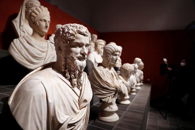 """Loạt kiệt tác điêu khắc """"quay trở về từ bóng tối"""" trong triển lãm được mong chờ tại Rome - Ảnh 5."""