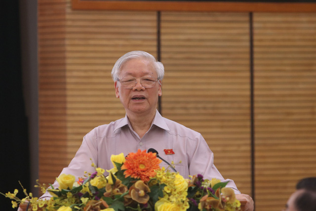 Tổng Bí thư: Làm cán bộ Hà Nội phải bản lĩnh, trí tuệ và có phương pháp - Ảnh 1.