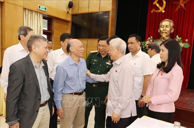 Tổng Bí thư: Làm cán bộ Hà Nội phải bản lĩnh, trí tuệ và có phương pháp - Ảnh 2.