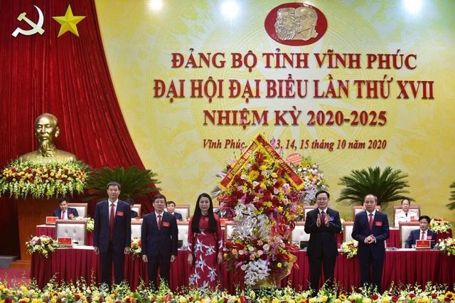 Lãnh đạo Đảng, Nhà nước dự Đại hội đại biểu Đảng bộ nhiệm kỳ 2020-2025 tại Vĩnh Phúc, Phú Yên, Đắk Lắk - Ảnh 1.