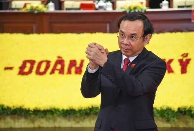 Ông Nguyễn Văn Nên đắc cử Bí thư Thành ủy TPHCM - Ảnh 1.