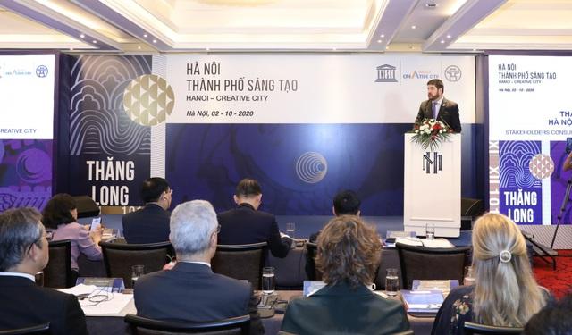 """Bí thư Vương Đình Huệ: """"Hà Nội sẽ tạo mọi điều kiện thuận lợi nhằm nâng tầm cho lĩnh vực thiết kế sáng tạo"""" - Ảnh 2."""