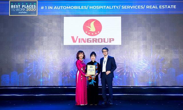 VINGROUP là nơi làm việc tốt nhất Việt Nam trong lĩnh vực ô tô, bất động sản, nghỉ dưỡng, giáo dục - Ảnh 1.