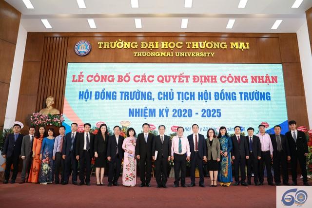 PGS.TS. Bùi Hữu Đức giữ chức vụ Chủ tịch Hội đồng Trường Đại học Thương mại - Ảnh 1.
