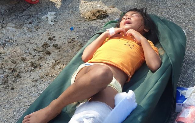 Hình ảnh những nạn nhân được cứu trong vụ sạt lở núi kinh hoàng ở Quảng Nam - Ảnh 3.