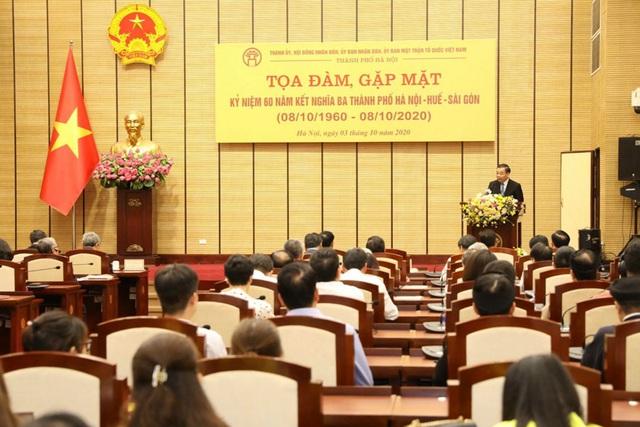 Tình nghĩa Hà Nội - Huế - Sài Gòn được xây bằng máu xương nên không gì có thể lay chuyển được - Ảnh 3.