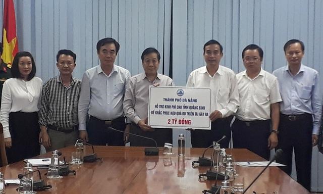 Đà Nẵng chia sẻ và hỗ trợ các tỉnh Quảng Trị, Quảng Bình, Hà Tĩnh mỗi tỉnh 2 tỷ đồng - Ảnh 1.