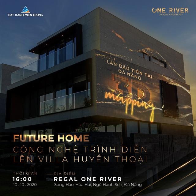 Sự kiện khánh thành villa 7 sao One River diễn ra ngày 10/10 với các hoạt động: Tham quan biệt thự, thưởng ngoạn du thuyền, thưởng thức các tiết mục piano do nghệ sĩ Tuấn Mạnh biểu diễn và màn trình diễn 3D Mapping lên chính vách đá của biệt thự 7 sao One River.