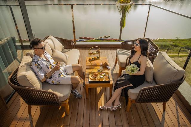 Sự kiện bao gồm nhiều hoạt động với mong muốn truyền tải cảm xúc như thế nào là cuộc sống ở villa nghỉ dưỡng hàng đầu Việt Nam do Đất Xanh Miền Trung kiến tạo.