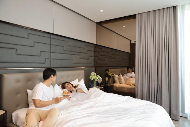 Đất Xanh Miền Trung khánh thành villa 7 sao One River bằng đại tiệc trình diễn ánh sáng - Ảnh 7.