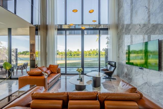 Đất Xanh Miền Trung khánh thành villa 7 sao One River bằng đại tiệc trình diễn ánh sáng - Ảnh 5.