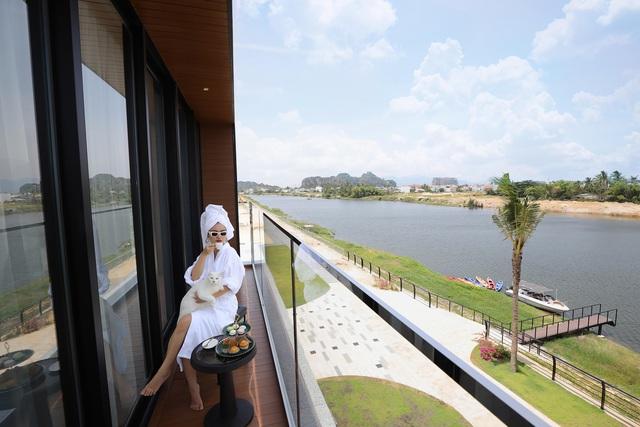 Đất Xanh Miền Trung khánh thành villa 7 sao One River bằng đại tiệc trình diễn ánh sáng - Ảnh 6.