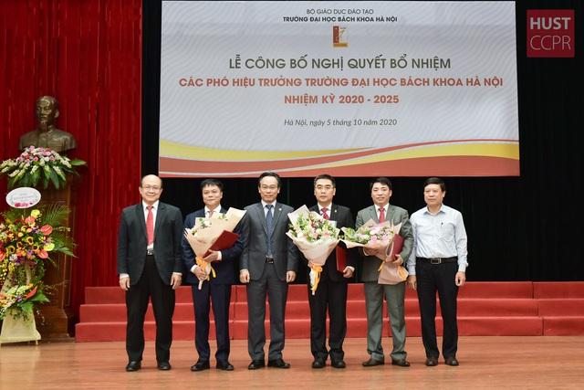 Trường Đại học Bách khoa Hà Nội bổ nhiệm ba Phó Hiệu trưởng - Ảnh 1.