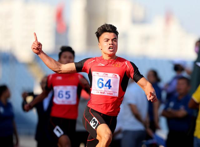 1 kỷ lục quốc gia được phá tại giải Điền kinh vô địch 2020 - Ảnh 1.