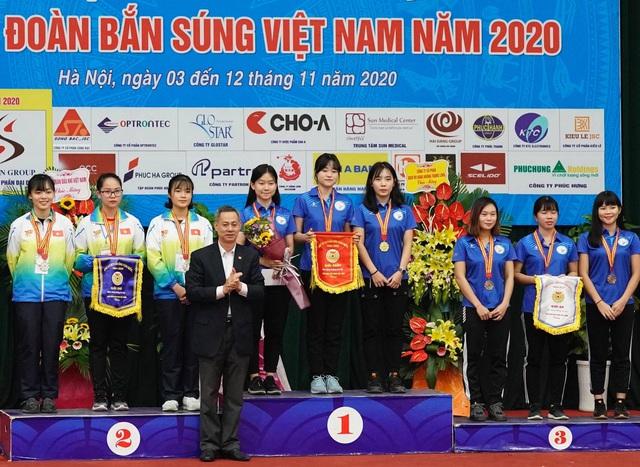 Bế mạc Giải Bắn súng vô địch toàn quốc 2020: 8 lượt kỷ lục quốc gia được thiết lập - Ảnh 2.