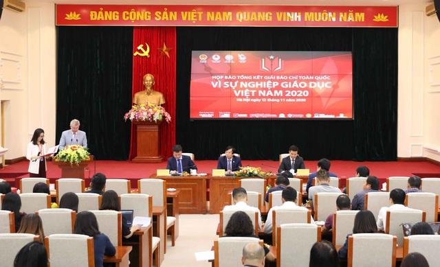 """50 tác phẩm đoạt Giải báo chí toàn quốc """"Vì sự nghiệp Giáo dục Việt Nam"""" 2020 - Ảnh 2."""