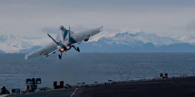 """Chạy đua quân sự Mỹ, Nga khiến Bắc cực """"dậy sóng"""" - Ảnh 1."""