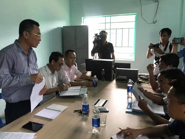"""Đoàn công tác Bộ Công Thương kiểm tra nhà máy thủy điện """"chống lệnh"""" Trung ương - Ảnh 3."""