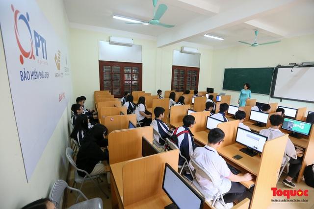 Bưu điện PTI trao tặng phòng học máy tính cho Trường THPT Việt Bắc - Ảnh 7.